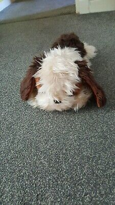 Vintage Brown And Tan Soft Toy Dog • 6£
