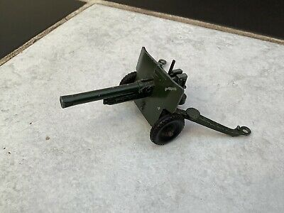 Vintage Original Diecast Lone Star Military 25 Pounder Army Toy Cannon • 9.99£