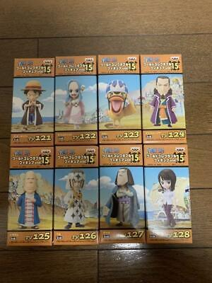 NEW BANPRESTO One Piece WCF Vol.15 Completed Set Of 8 • 101.04£