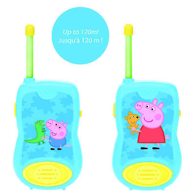 Lexibook TW12PP Peppa Pig Walkie-Talkies 100M • 17.96£
