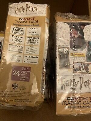 Harry Potter Contact Trading Cards Panini Full Box 24 Sealed Packets • 13.99£
