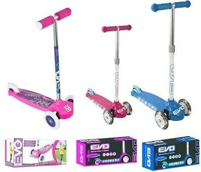 Evo Move N Groove Scooter Light Up Blue Or Pink & Cyclone Models • 15.99£
