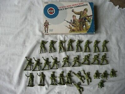 Airfix 1/32 British Commandos In Target Box • 11£