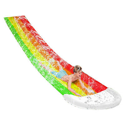 Inflatable Water Slide Summer PVC Swimming Pool Children Outdoor Lawn Toys #SO7 • 23.08£