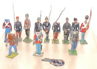 G08 - Lot Of Heyde And Other German Makers 48mm Figures  • 14.99£