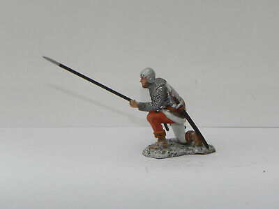 Del Prado Medieval Warriors Model Swiss Infantryman, Burgundy, 15th  Centry • 3.30£