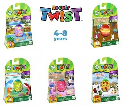 LeapFrog Rockit Twist Game Pack - NEW Multiple Choice 4-8 Years • 12.99£