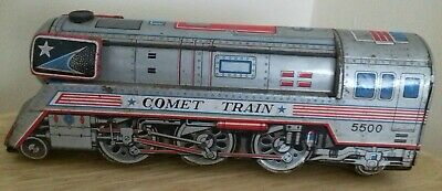 Old Japanese Tinplate Toy Train With Sound  • 7.49£
