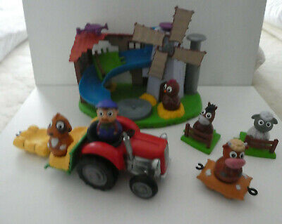 Weebles  Wobbly Tractor,  Weebledown Farm  Lots 6 Figures Bundle - Cow  Sheep • 28.99£