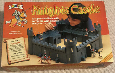 Toyway Timpo Knights Castle. Vintage 100% Complete Amazing Condition *christmas* • 99£