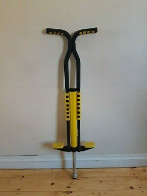 Yabbay Pogo Stick (used) For Boys And Girls And Light Adults. Black And Yellow   • 20£