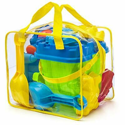 Prextex Beach Toy Set In Reusable Zippered Bag For Easy Clean And Store, • 24.20£