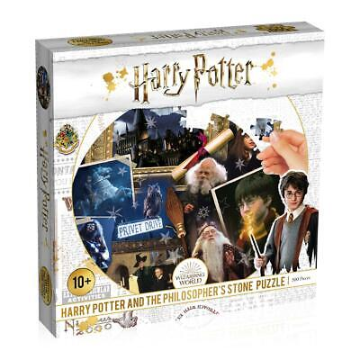 Harry Potter Philosophers Stone 500 Piece Jigsaw Puzzle • 9.99£