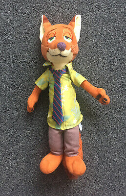 Disney Zootropolis Nick Wilde Plushy Toy • 2£