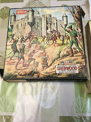 Airfix Playset Series Sherwood Snap Together Castle • 42£