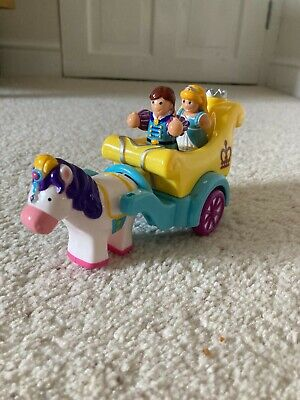 Kids Toy Push Along Horse And Carriage With Characters • 0.99£