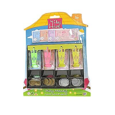 My Play House Kids Money Toy Can Use With Till/Cash Register Play Shop • 4.99£