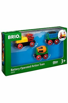 Brio Battery Operated Action Train 33319 For Wooden Railway • 18.99£