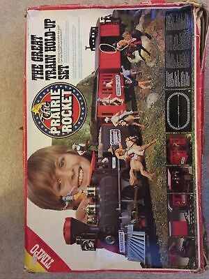 Prairie Rocket The Great Train Hold-up Set Timo Toys .Complete Train No Cowboys • 31£