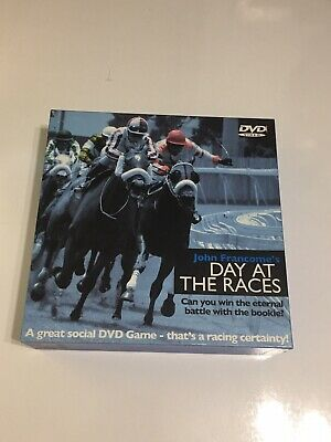 John Francome's Day At The Races Board Game.  • 3.99£