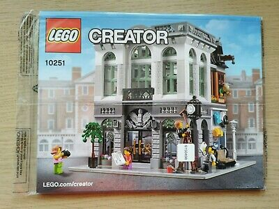 Lego Creator 10251 Brick Bank - INSTRUCTIONS MANUAL ONLY - Brand New • 10.99£