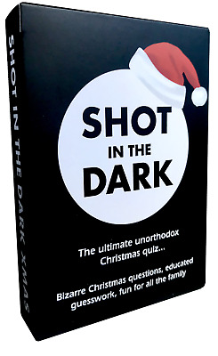 Shot In The Dark: Christmas Edition - The Ultimate Unorthodox Quiz Game • 8.99£