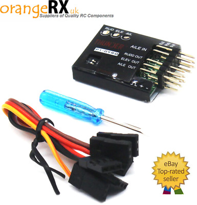 Thunder P1-GYRO 3-Axis Gyro Flight Controller Fixed-wing Aircraft RC Plane Wing • 19.99£