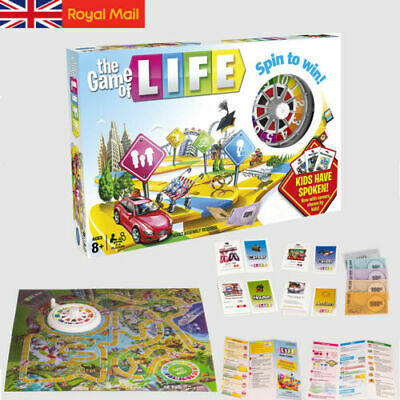 The Game Of Life Board Game Newest Edition Fun Party Kids Family Interactive • 16.98£