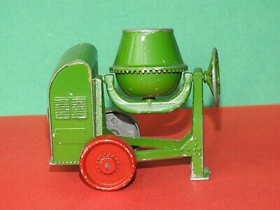 Moko Lesney 1948-50 Rare Large Scale Green Cement Mixer With Red Wheels • 139.99£