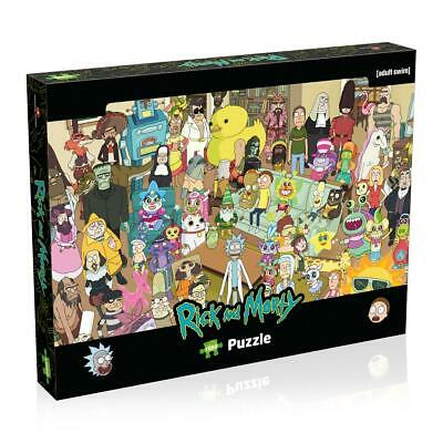 Rick & Morty 1000 Piece Jigsaw Puzzle • 12.99£