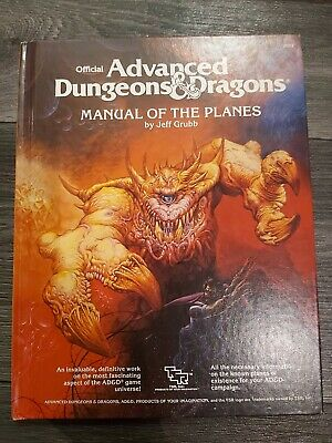 Advanced Dungeons And Dragons Manual Of The Planes • 27£