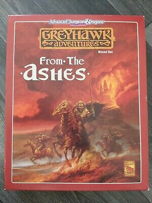Greyhawk Adventures Advanced Dungeons And Dragons 2nd Edition From The Ashes... • 50£