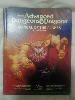 Official Advanced Dungeons & Dragons Manual Of The Planes, Jeff Grubb • 30£