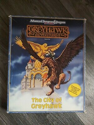 Greyhawk Adventures The City Of Greyhawk Advanced Dungeons And Dragons 2nd... • 30£