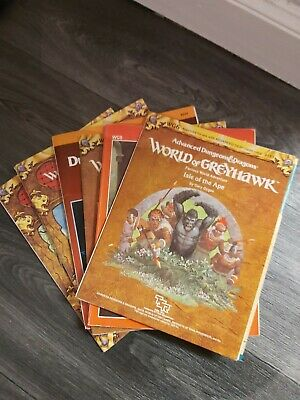 World Of Greyhawk Fantasy Game Setting Dungeons And Dragons 2nd Edition  • 31£