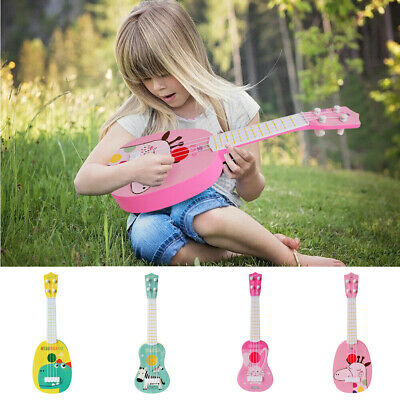 UK Mini Kids Animal Ukulele Small Guitar Musical Instrument Educational Toy Gift • 8.99£