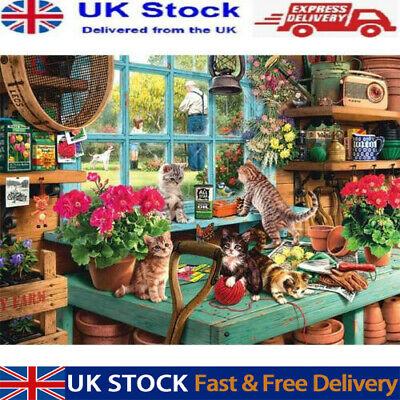 Cute Cats - 1000 Piece Jigsaw Puzzles For Adults Kids Learning Education  UK  • 11.59£