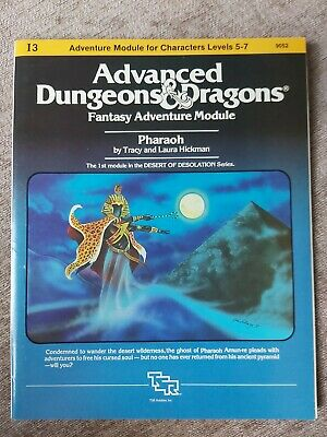 Advanced Dungeons And Dragons Pharaoh  • 25£