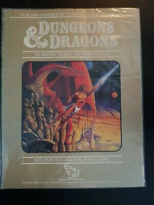 Player's Guide To Immortals (1986) TSR - Basic Set Part 5 D&D • 6.50£