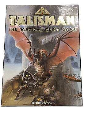 Talisman 2nd Edition With 3 Expansion Packs (Adventure, Dungeons, And Timescape) • 200£