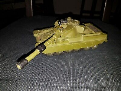 Dinky Toys Chieftain Tank Great Example Working Gun Clip 1970s • 9.50£