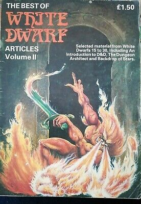 THE BEST OF WHITE DWARF ARTICLES VOL II GAMES WORKSHOP 1983 54 Pgs  • 6.90£