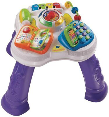 VTech Play & Learn Baby Activity Table, Baby Play Centre (opened Box But New) • 24£
