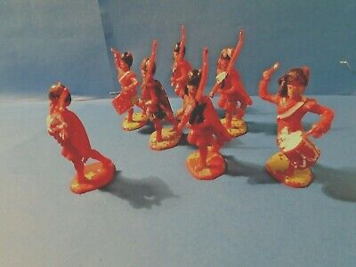 Vintage Toy Soldiers  Rare    7  Charbens   Plastic Highlanders   54 Mm   1960,s • 6.25£
