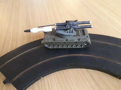 Nice Working Rare Triang Railway Minic Motorway Missile Tank ,track Tested • 25£