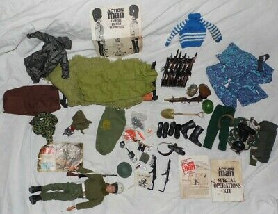 Comprehensive Action Man Kit C1972 - Includes Everything You See In The Photo • 1.99£