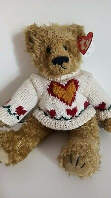 *HEARTLEY*  Love Conquers All!  Bear - Ty Attic Treasures Collection • 5.25£