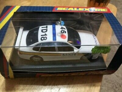 Scalextric C2120 Police Opel Vectra Car Kent Constabulary Mint In Box Lights • 0.99£