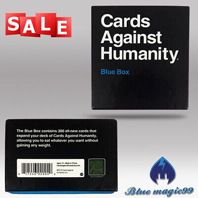 Cards Against Humanity BLUE Box Expansion Pack New Sealed Uk Fast Post GAME Card • 14.95£