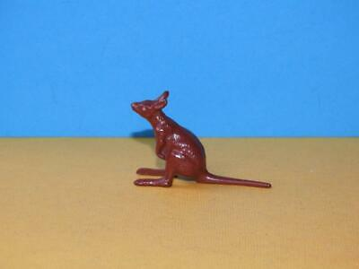 JOHILLCO VINTAGE 1950s HOLLOW CAST LEAD ZOO SERIES RARE JOEY BABY KANGAROO VNM ! • 26.99£